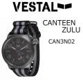 VESTAL ベスタル 腕時計 CANTEEN ZULU  [CAN3N02] キャンティーン ズール ヴェスタル 正規品 【ラッピング可】