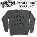 CAPTAIN FIN キャプテンフィン メンズ スウェット フロントロゴ