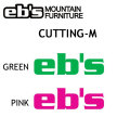 ���ǥ� eb's  ���ӥ� ���ƥå��� CUTTING M������ ���åƥ����Ρ��ܡ��ɥ��ƥå���