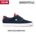 C1RCA サーカ スケートシューズ ESSENTIAL(DRESS_BLUE/RIBBON_RED)メンズ スニーカー SK8 シューズ