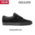 C1RCA サーカ スケートシューズ GOLIATH DAVID GRAVETTE シグネチャーモデル(BLACK_DARK_GULL)スケート スニーカー SK8 シューズ