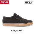 C1RCA サーカ スケートシューズ HESH(BLACK_SEAPORT)スケート スニーカー SK8 シューズ