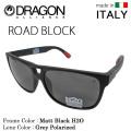 ���������̵����DRAGON �ɥ饴�� ���饹 ROAD BLOCK �?�ɥ֥�å� MATT BLACK H2O