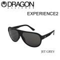 DRAGON 【ドラゴン】 サングラス EXPERIENCE 2 [正規品] JET・GREY