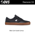 DVS ディーブイエス スケートシューズ Daewon 14(005)Black_Gum_Suede_Canvas メンズ スニーカー SK8 シューズ