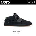 DVS ディーブイエス スケートシューズ TOREY 3(005)Black_Suede メンズ スニーカー SK8 シューズ