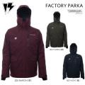[現品限り特別価格] 15-16 HOMESCHOOL ホームスクール スノーウェア FACTORY PARKA ジャケット メンズ スノーボードウエア バックカントリー