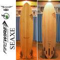 【送料無料】FIREWIRE SURFBOARDS ファイヤーワイヤー サーフボード SEAXE 7.2 7.6 Timber Tek ティンバーテック ファンボード