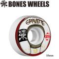 BONES WEELS ボーンズ ウィール GRAVETTE 「WASTED LIFE」 53mm [STF] スケートボードウィール 正規品