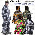 [アウトレット] GUSH ガッシュ ウェア IDEAL JACKET [#24000] アイディール ジャケット リラックスフィット スノーボード