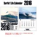 2016 �����ե���饤�ե������� Surfin' Life Calendar 2016ǯ�� �ե��?������ �ޥ��������