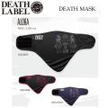 14-15 DEATH LABEL �ڥǥ��졼�٥�� �ե������ޥ���  DEATH MASK [ALOHA]