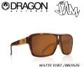 DRAGON  ドラゴン  サングラス THE JAM [MATTE TORT/BRONZE]