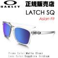 [�������̵��]������� ���饹 OAKLEY  ��å� �������塼 ��������ե��å� LATCH SQ Asian Fit  9358-04 ����������