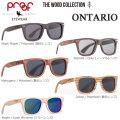 代引き手数料無料 Proof EYEWEAR プルーフ サングラス ONTARIO オンタリオ ウッドコレクション 正規品