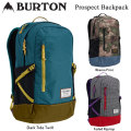 16-17 バートン リュック BURTON PROSPECT PACK 21L 16338102 バックパック リュックサック バッグ 正規品