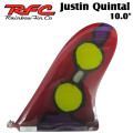 Rainbow Fin レインボーフィン Justin Quintal [59] 10.0 ステンドグラス ロングボード用フィン
