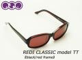 [代引き手数料無料]REDI CLASSIC レダイ クラシック サングラス MODEL TT RED 玉井太郎 モデルTT 偏光レンズ