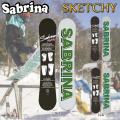 15-16 SABRINA サブリナ スノーボード SKETCHY キャンバー レディース スケッッチー 正規品