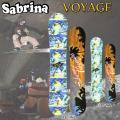 15-16 SABRINA サブリナ スノーボード VOYAGE ルーフキャンバー レディース ボヤージュ 正規品