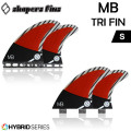 SHAPERS FIN �������ѡ����ե��� MB hybrid [�ޥåȡ��Х�ƥ��� �ϥ��֥�å�] S��������TRI�ե���