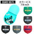 SOURCE【ソース】スケートボード ビス トラック取り付け用ビス カラービス ケース付き