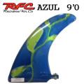 Rainbow Fin レインボーフィン Staind Glass Fin Azul [83] 9'0 ステンドグラス ロングボード用フィン