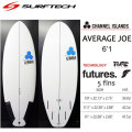 SURF TECH �����եƥå� CHANNEL ISLAND �����ͥ륢������ AVERAGE JOE ���٥졼�����硼FUTURE 6'1