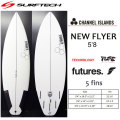 SURF TECH �����եƥå� CHANNEL ISLAND �����ͥ륢������ NEW FLYER �˥塼�ե饤�䡼 FUTURE 5'8