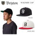 ブリクストン WAGNER CAP 帽子 メンズ キャップ BRIXTON