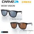 CARVE カーブ サングラス Wow Vision BLACK[43-1] Tort/Blk POLARIZED [43-2] 偏光レンズ