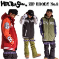 15-16 MTN. ROCK STAR �ޥ���ƥ��å������� ZIP HOODY No.8 (3-Layers) ���åץա��ǥ���