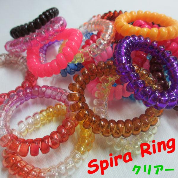 SpiraRing 【スパイラリング】 SpiraBig スパイラビッグ  クリアーカラー  7color