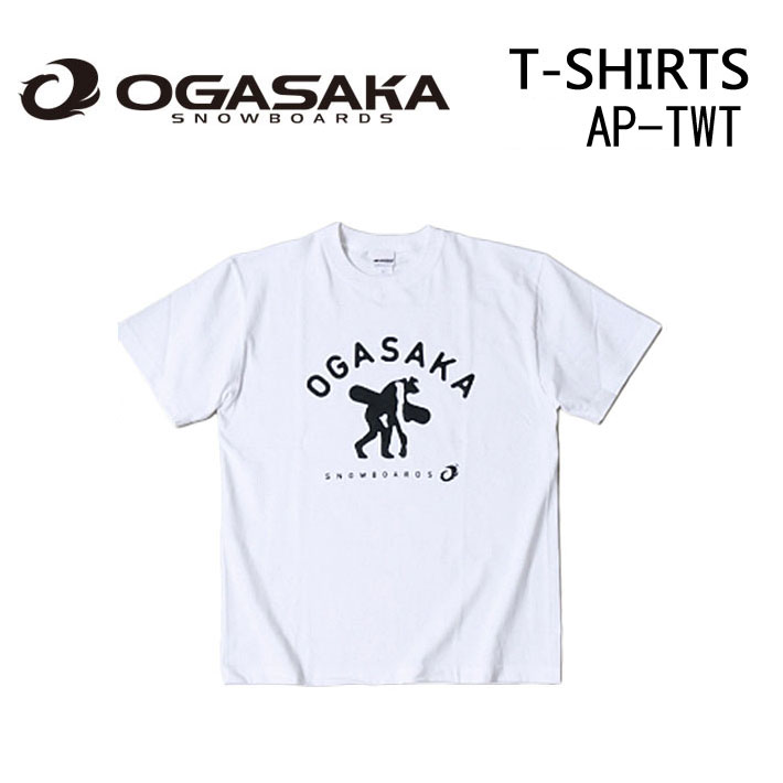 2016 OGASAKA Sowboard オガサカスノーボード 半袖 Tシャツ AP-TWT