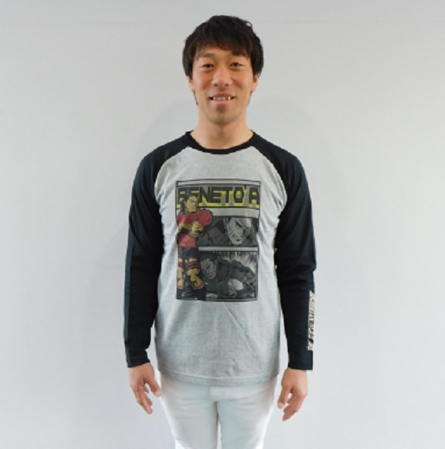 【PENETO'A】アメコミ調デザインロングスリーブTシャツ(サイズ:S~XL)