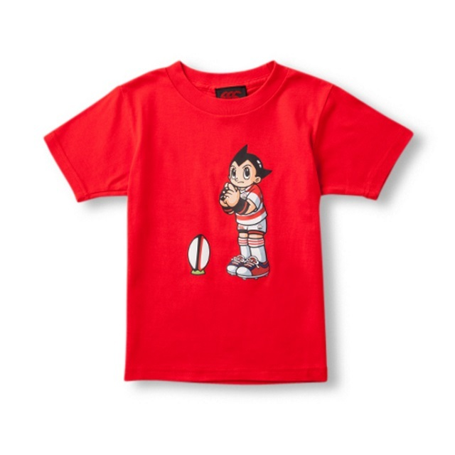 【カンタベリー】キッズ アトムTシャツ [RAJ35944](ネイビー・レッド/100~140)