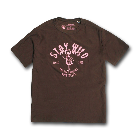 rulezpeeps (ルールズピープス) 17RZ0008 Smile Wool STAY WILD Tee