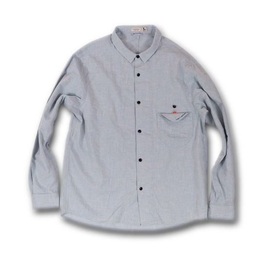 rulezpeeps (ルールズピープス)17RZ0030 ORGANIC COTTON LINEN GOODAY SHIRTS
