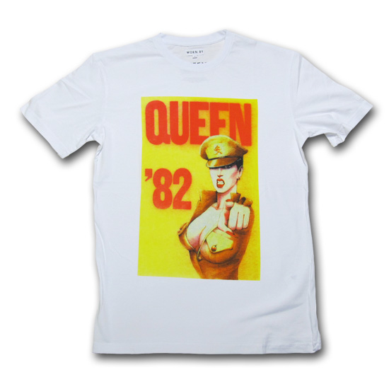 Worn By (ウォーン バイ) QUEEN 82 POSTER