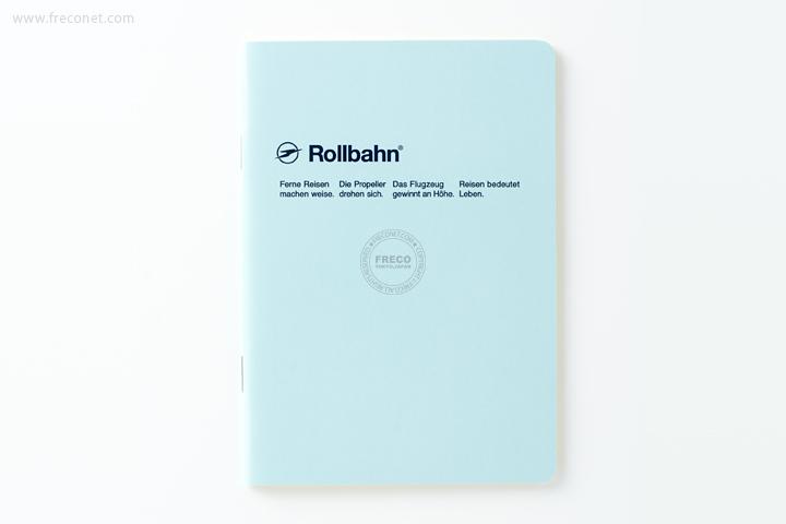 ロルバーン ノート A6 ライトブルー(500048-360)【クロネコDM便OK】
