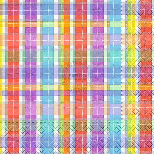 Paper+Design ペーパーナプキン <ランチ> Funny squares(200093)【クロネコDM便OK】