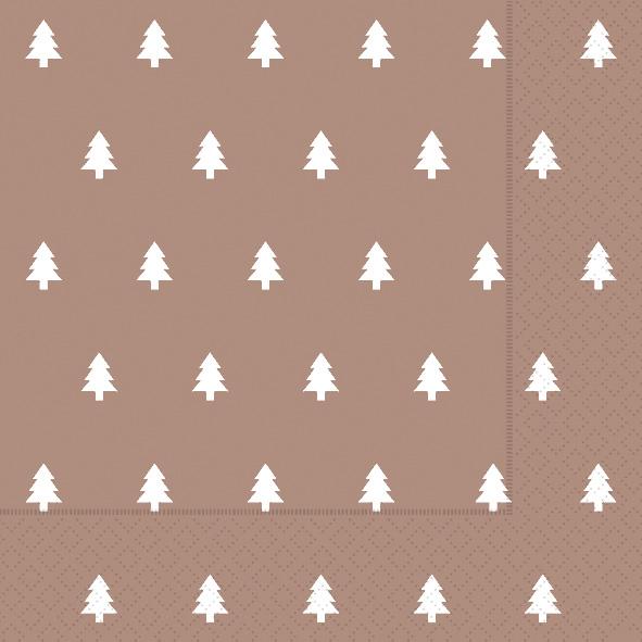 Paper+Design ペーパーナプキン <ランチ> Trees copper(60940)【クロネコDM便OK】