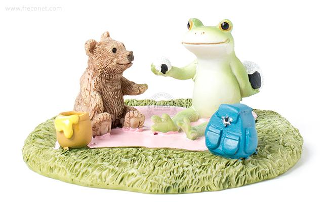 Copeau カエルとクマのピクニック(70073)【宅急便配送】