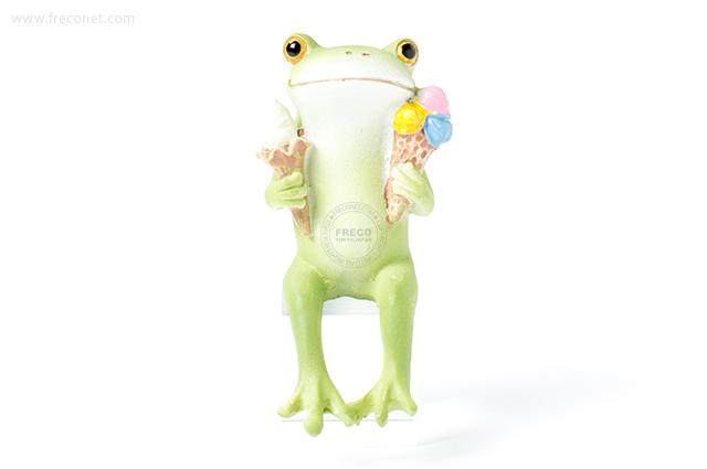 Copeau 両手にアイスのカエル(70552)【宅急便配送】