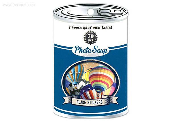 フォトスープ 気球(91169)【メール便OK】