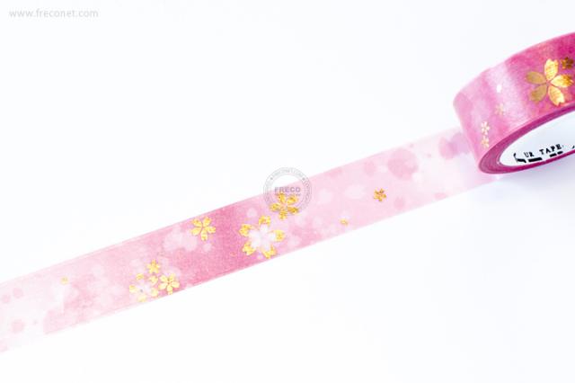 自己印マスキングテープ rose gold foil【クロネコDM便OK】