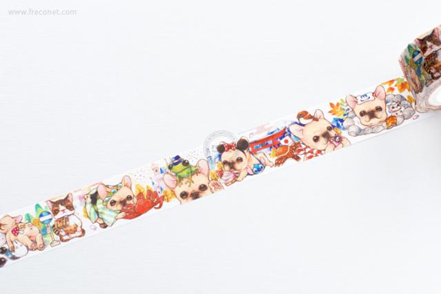 自己印マスキングテープ Do Do travel:1 Japan【クロネコDM便OK】