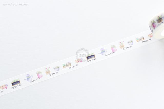 自己印マスキングテープ zakka【クロネコDM便OK】