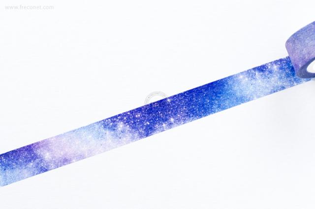 自己印マスキングテープ Galaxy【クロネコDM便OK】