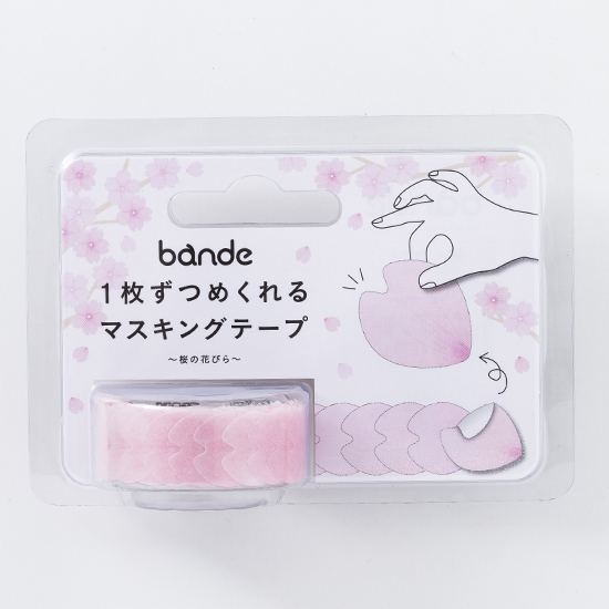 bande マスキングロールステッカー 桜の花びら(BDA 218)【宅急便配送】